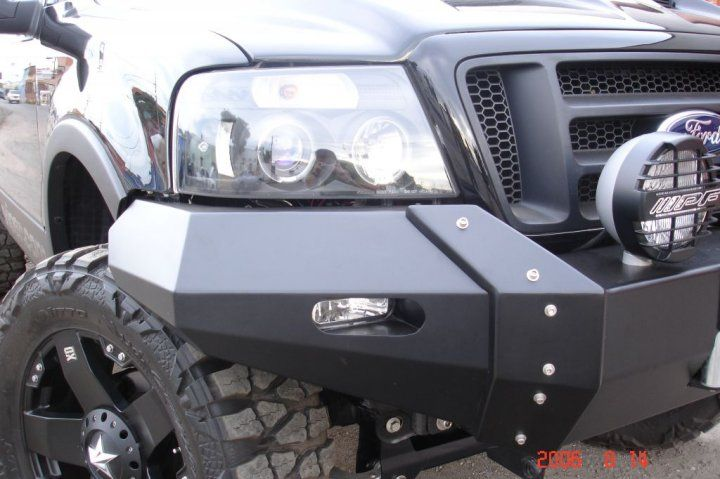 Pd 039 Ford F 150 2005 2007 Front Ultima Bumper 36 Ford F150