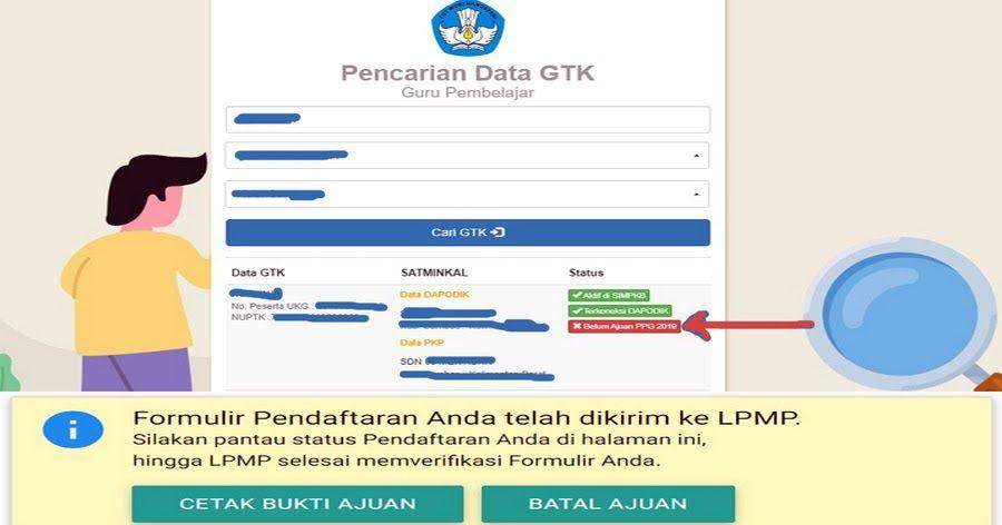Syarat Dan Tata Cara Pendaftaran Ppg Di Sim Pkb Terbaru Kepala Sekolah Pendidikan Latihan