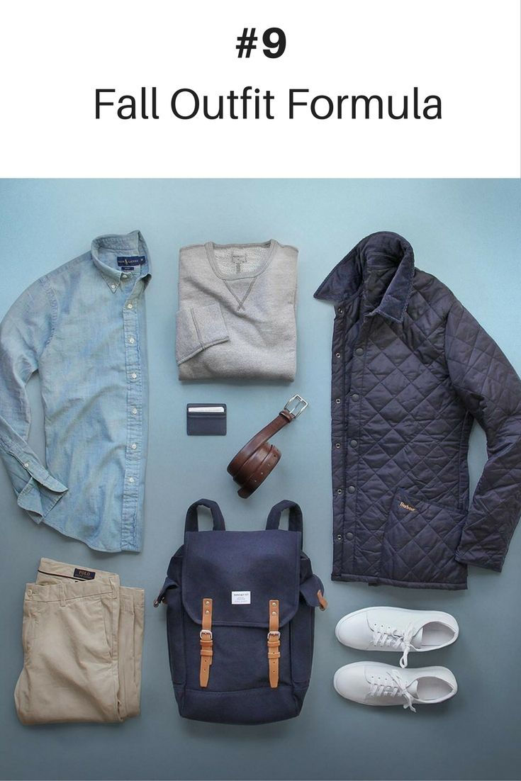 10 Coolest Outfit Formulas You Can Wear This Fall #mensfashion