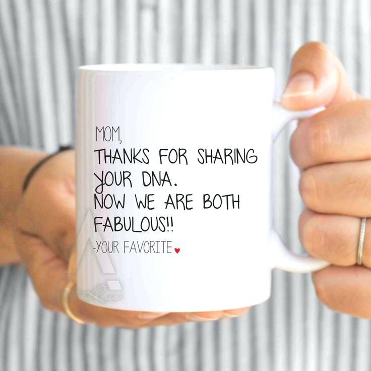 Diy Christmas Presents For Mom Mothers Day From Daughter Funny Coffee Mug Thanks Sharing Your Now We Both Are Fabulous Birthday Present
