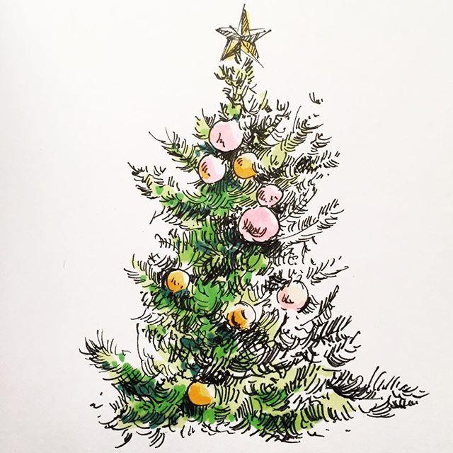 15 Diy Christmas Tree Drawings To Do With The Kids Christmas Tree Drawing Christmas Tree Drawing Easy Realistic Christmas Trees