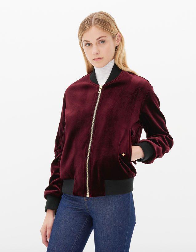 4148116ec Ventura Jacket - Jackets - Sandro Paris   shopping list   Jackets ...