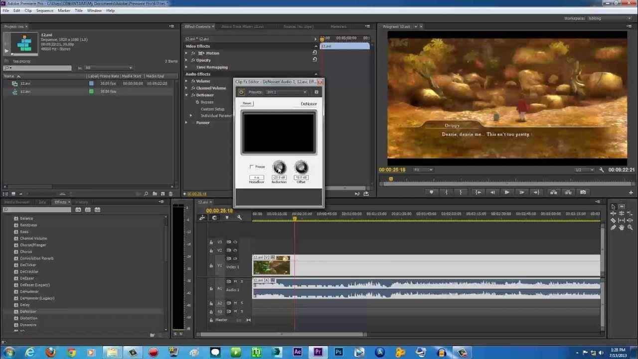Premiere Pro Tutorials How To Remove Audio Noise Background Noise Premiere Pro Tutorials Adobe Premiere Pro Premiere Pro