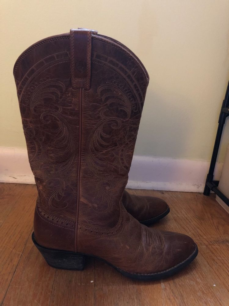3b9df7723d1 womens ariat boots size 6 brown gently used #fashion #clothing ...