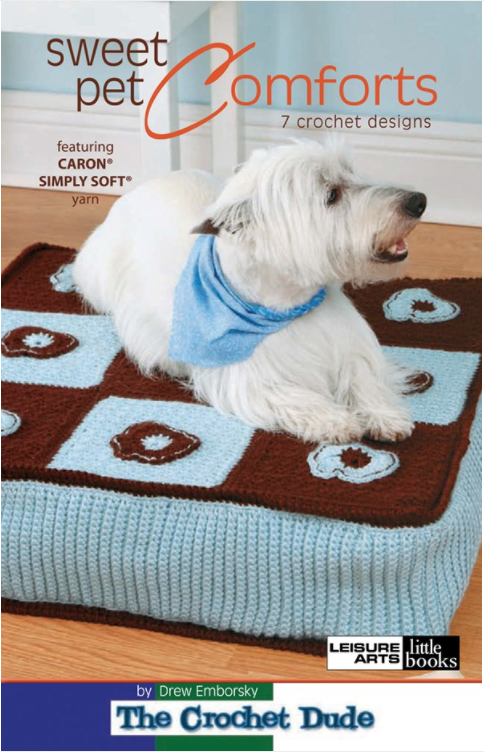 Sweet Pet Comforts eBook Dog bed sewing pattern, Cat