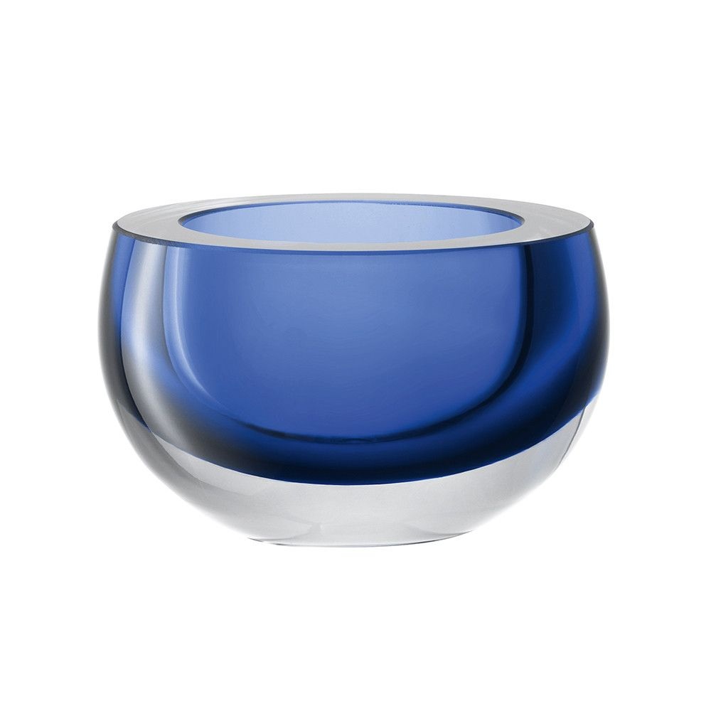 Discover the LSA International Host Bowl 15cm - Sapphire at Amara