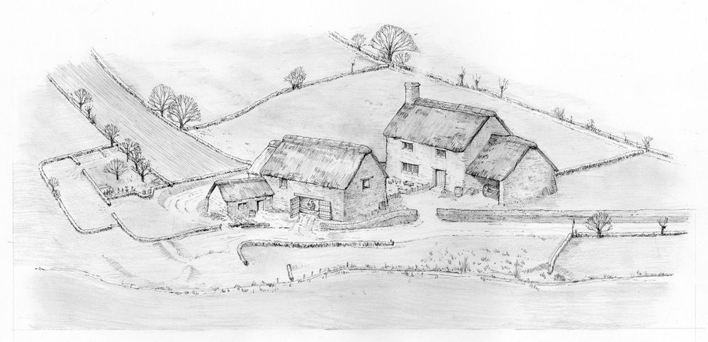 Reconstructing historic landscapes - Society of Architectural Illustration