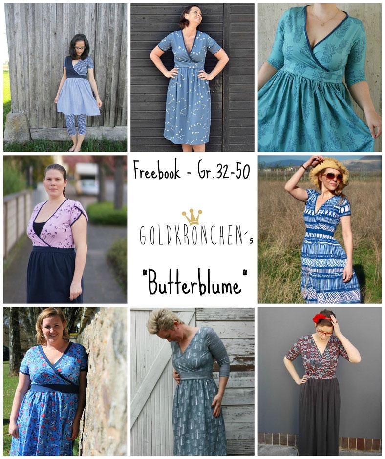 Kaloopu Goldkroenchenblogs Webseite Kleider Fur Frauen Nahen Nahen Kleid Damen Kostenloses Schnittmuster Kleid Damen