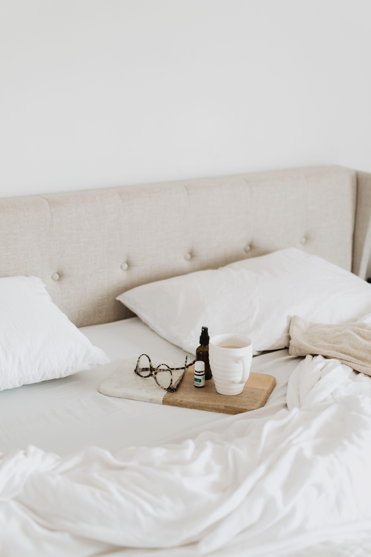 Athena Upholstered Platform Bed Frame Bedroom Decor Design
