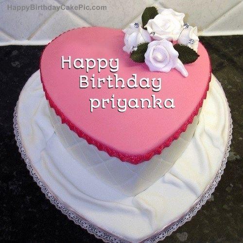 Birthday Cake For Priyanka Birthday S Happy Birthday Cake Images