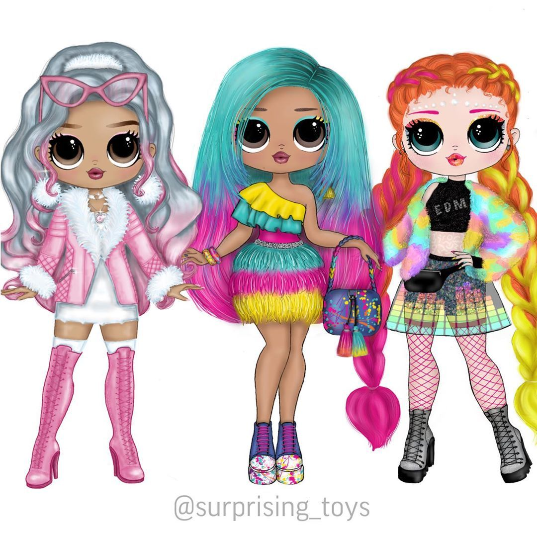 Surprise Dolls And Custom V Instagram I Need Your Advice Do You Remember The Big Sisters I Created They Ar Lol Dolls Cute Dolls Custom Monster High Dolls