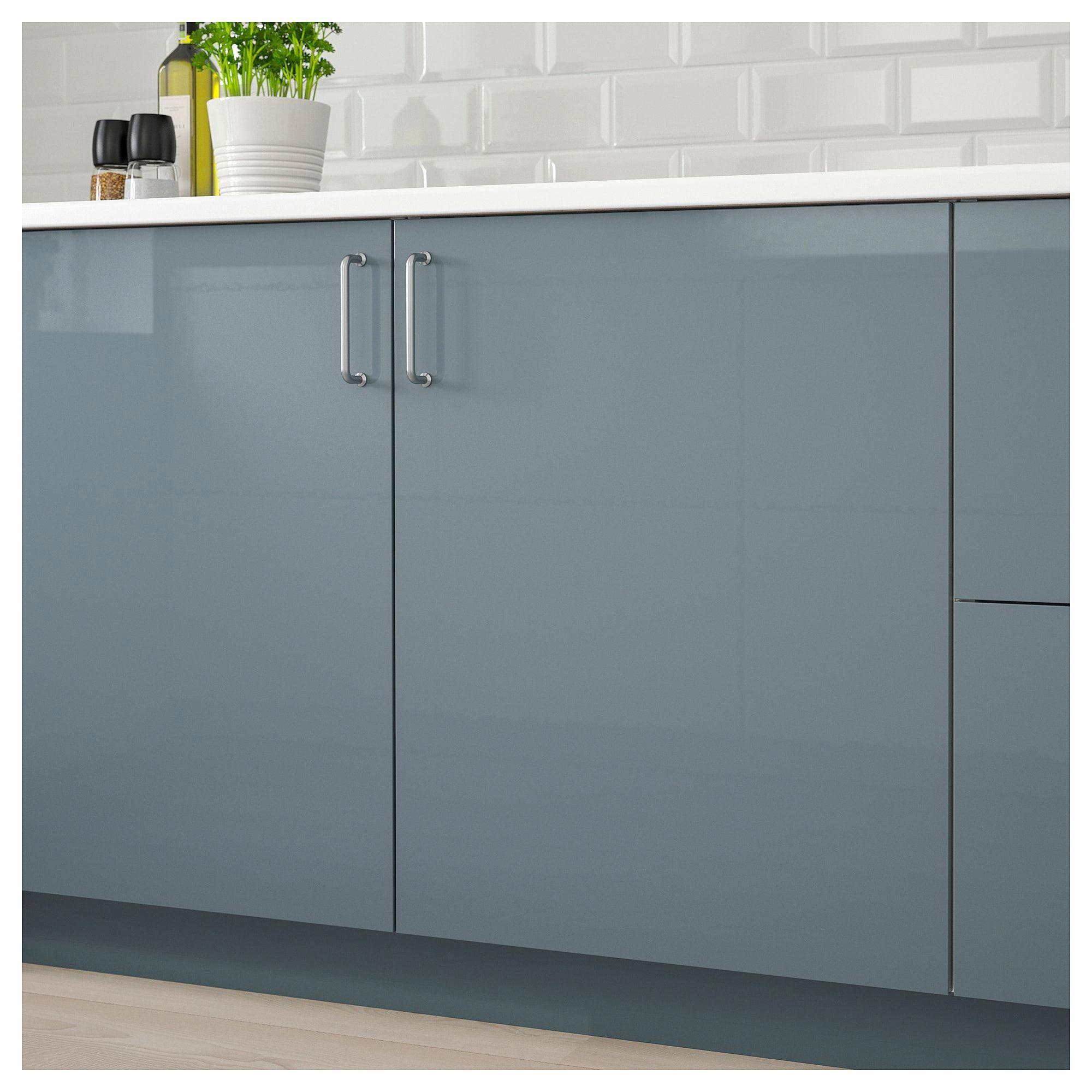 Best Ikea Kallarp High Gloss Gray Turquoise Door 400 x 300