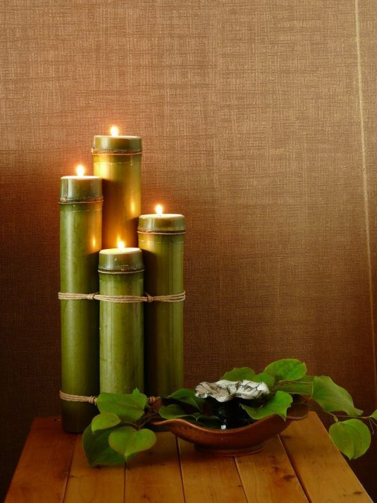 13+ Fantásticas Decoraciones de Bambú para Tu Hogar Handmade Home - decoracion con bambu