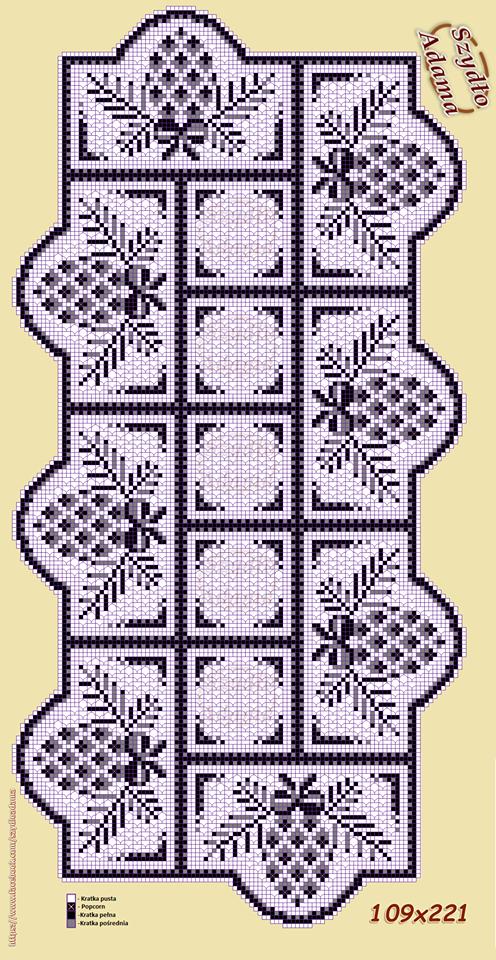 Pin von Ruth Cangemi auf Christmas filet crochet | Pinterest ...