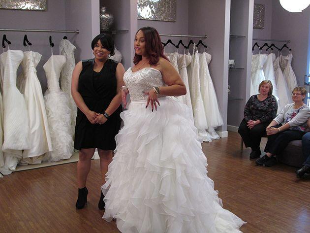 TLC Stars of Curvy Brides Top Plus-Size Wedding-Dress Alterations ...