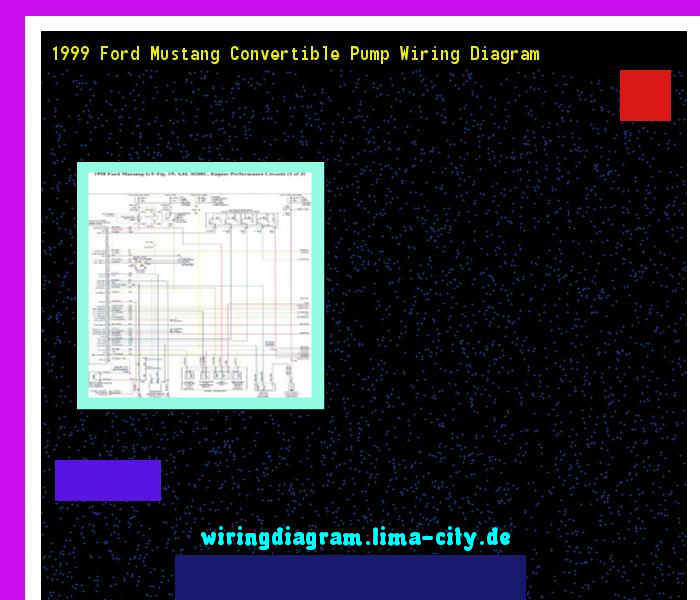 1999 Ford Mustang Convertible Pump Wiring Diagram  Wiring