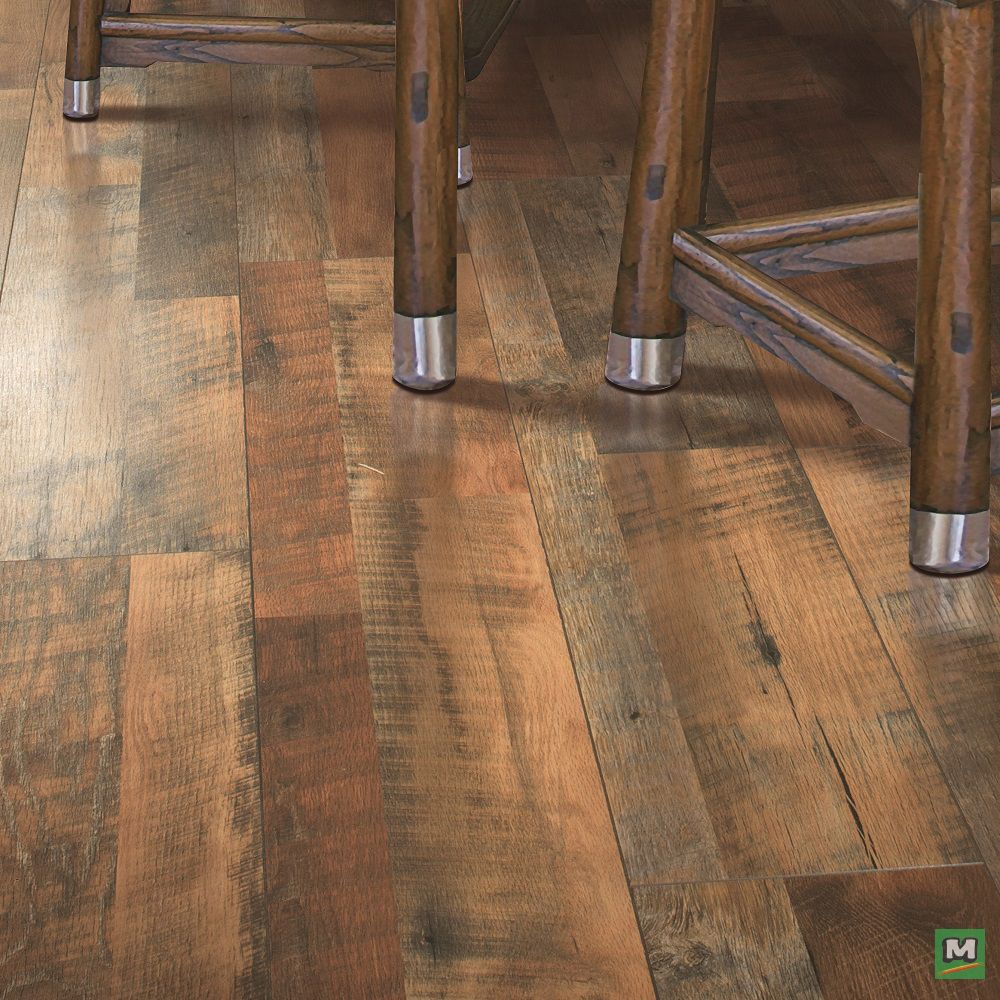 Mohawk® Grand Haven Barnhouse Oak laminate flooring