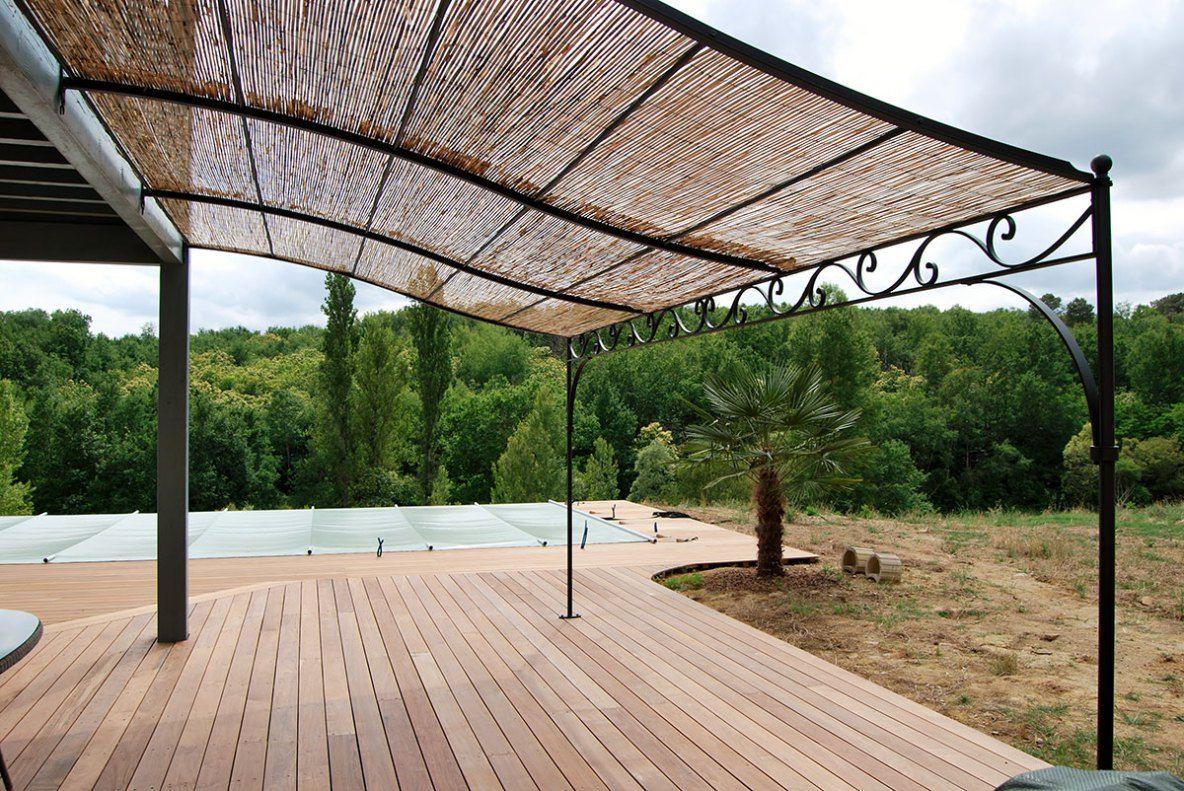 pergola toulouse acier sur mesure contemporaine fer forg tonnelle giardini nel 2018. Black Bedroom Furniture Sets. Home Design Ideas