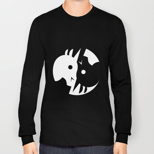 yin yang unicorn long sleeve tshirtthat's so unicorny