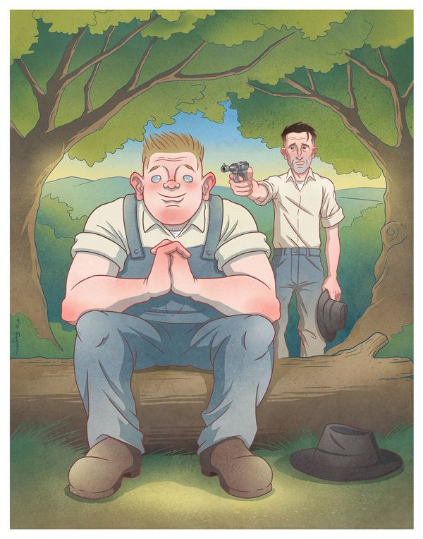 George Shooting Lennie In Of Mice And Men Of Mice And Men Funny Funny Pictures