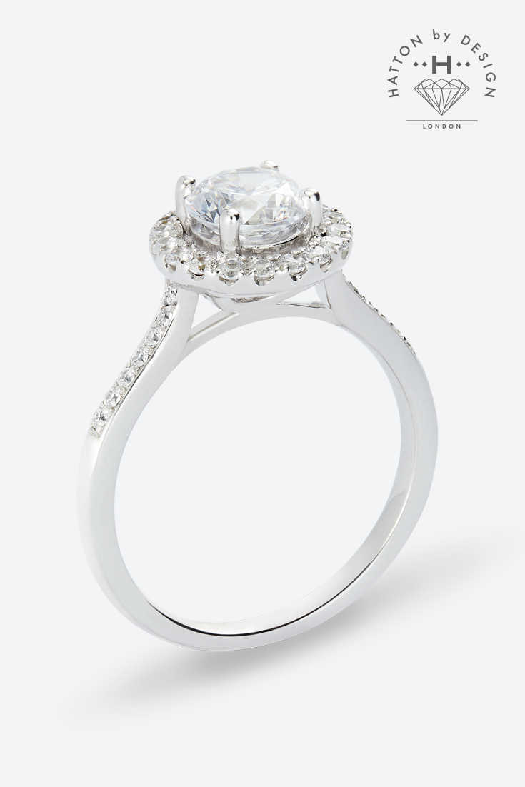 Exquisite diamond engagement rings from Hatton by Design ...