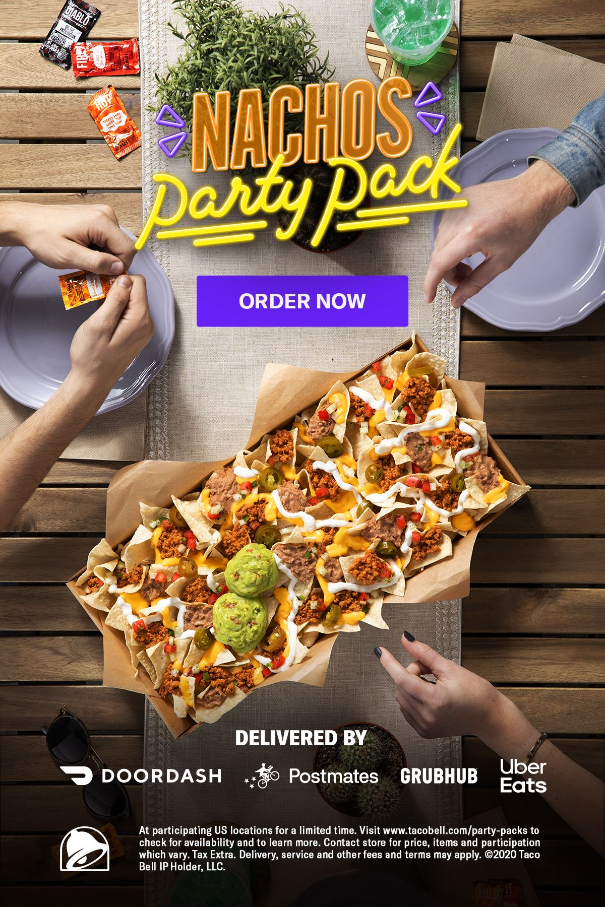 Get Taco Bell S Nachos Party Pack Delivered Nacho Party Food Best Food Ever
