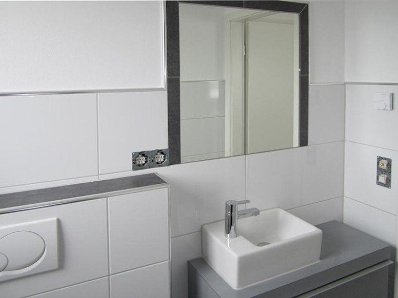 Badezimmerspiegel Auf Fliesen Kleben Schone Schlafzimmer