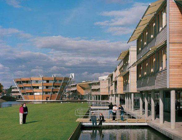 Jubilee Campus University Of Nottingham Hopkins Architects