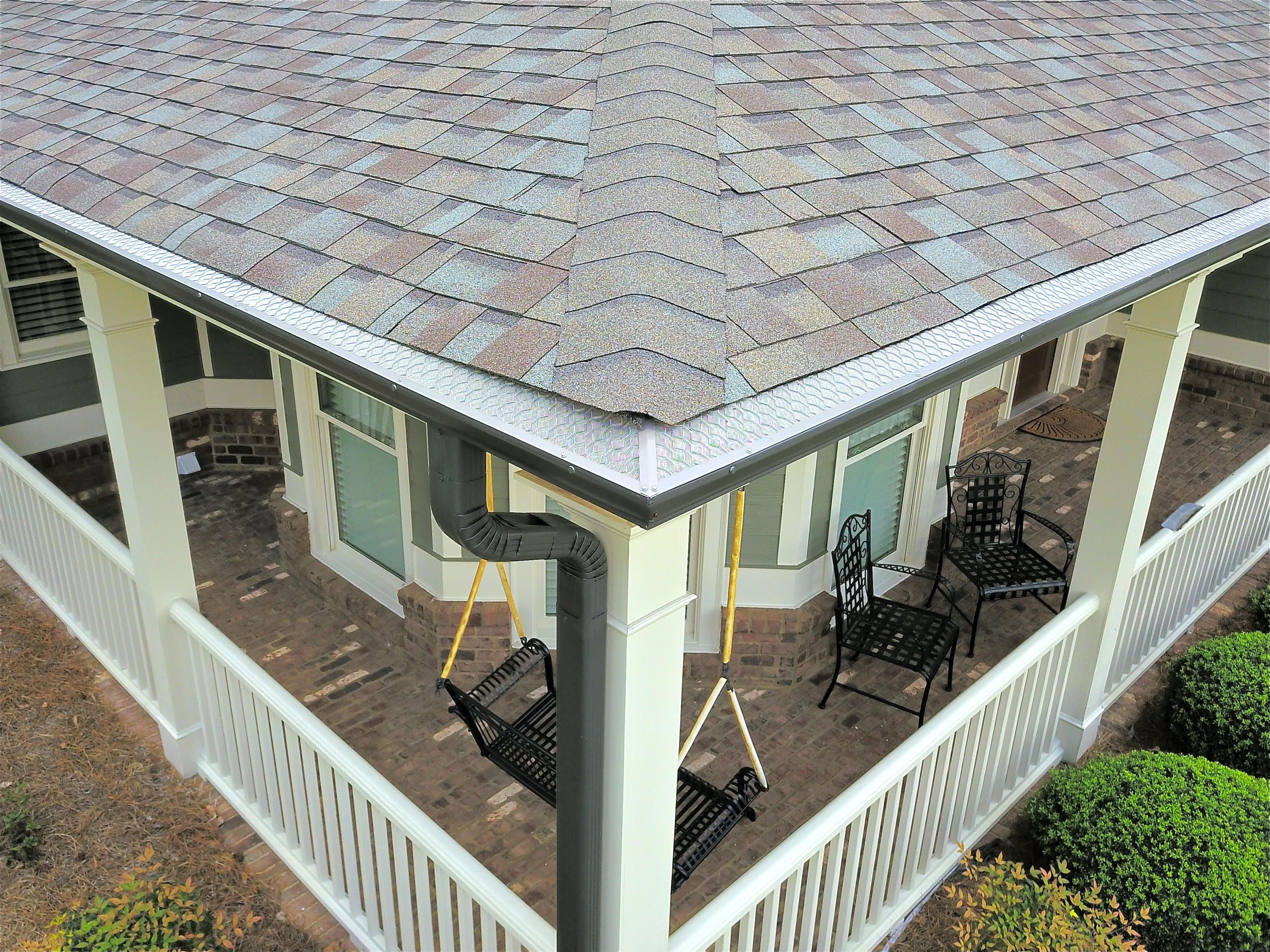 Set Up A Free Estimate Through Our Website Homecraftgutterguard Com Or Give Us A Call At 678 995 7092 Gutter Guard Gutter Protection Cleaning Gutters