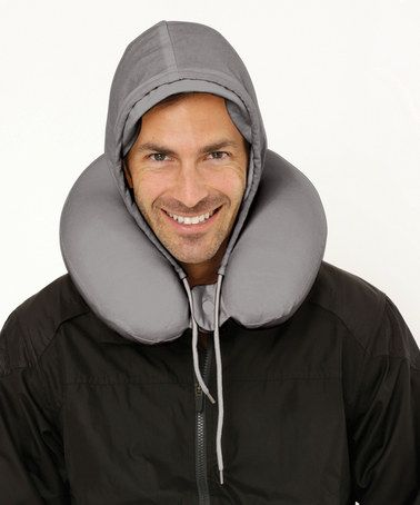 The hoodie that is also a travel pillow