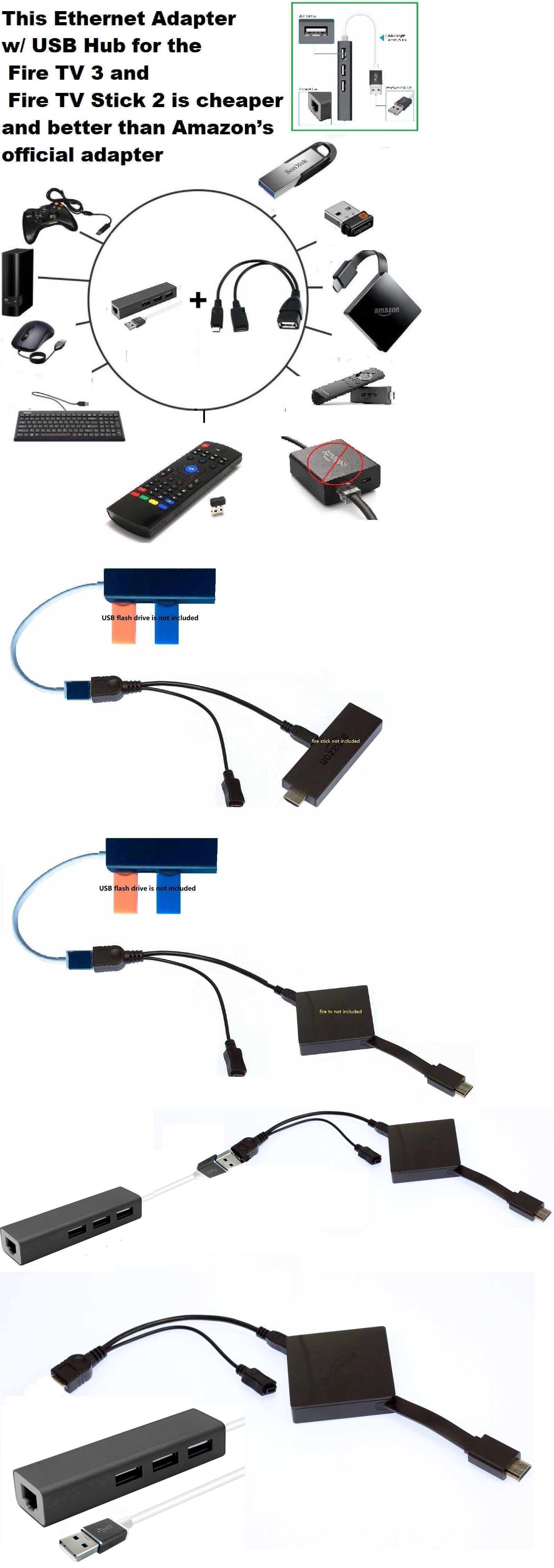 Usb Cables Hubs And Adapters 3 Port Usb Hub Lan