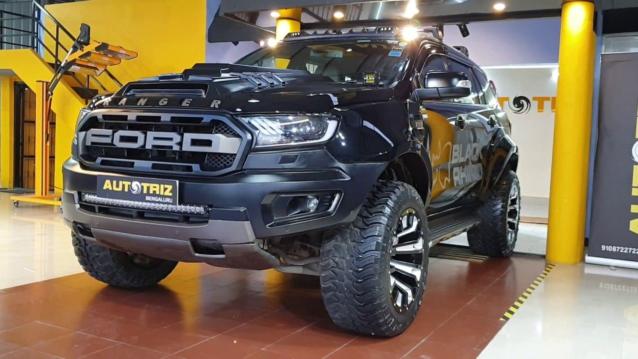 This New Ford Endeavour Is Brutally Modified Exterior