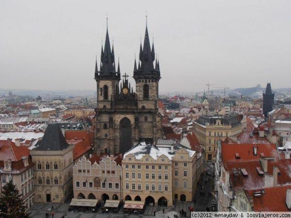 Plaza Vieja Praga La imagen mas famosa de Praga.