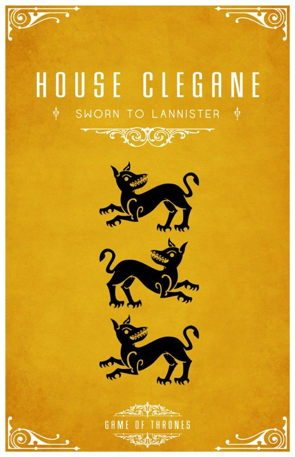 Affiches minimalistes pour Game of Thrones affiche minimaliste poster tv game of thrones 06