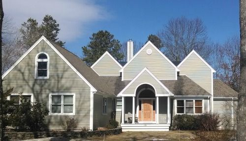 Fiber Cement Siding Project Marion Ma Contractor Cape Cod Ma Ri Fiber Cement Siding Fiber Cement Hardie Siding