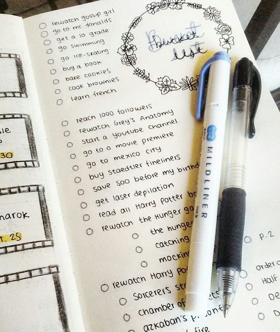 25 Bullet Journal Spread Ideas For Organizing Your Whole Life - A Dreamy Fantasy #newyearsresolutionbulletjournal