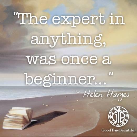 You've got to start somewhere...