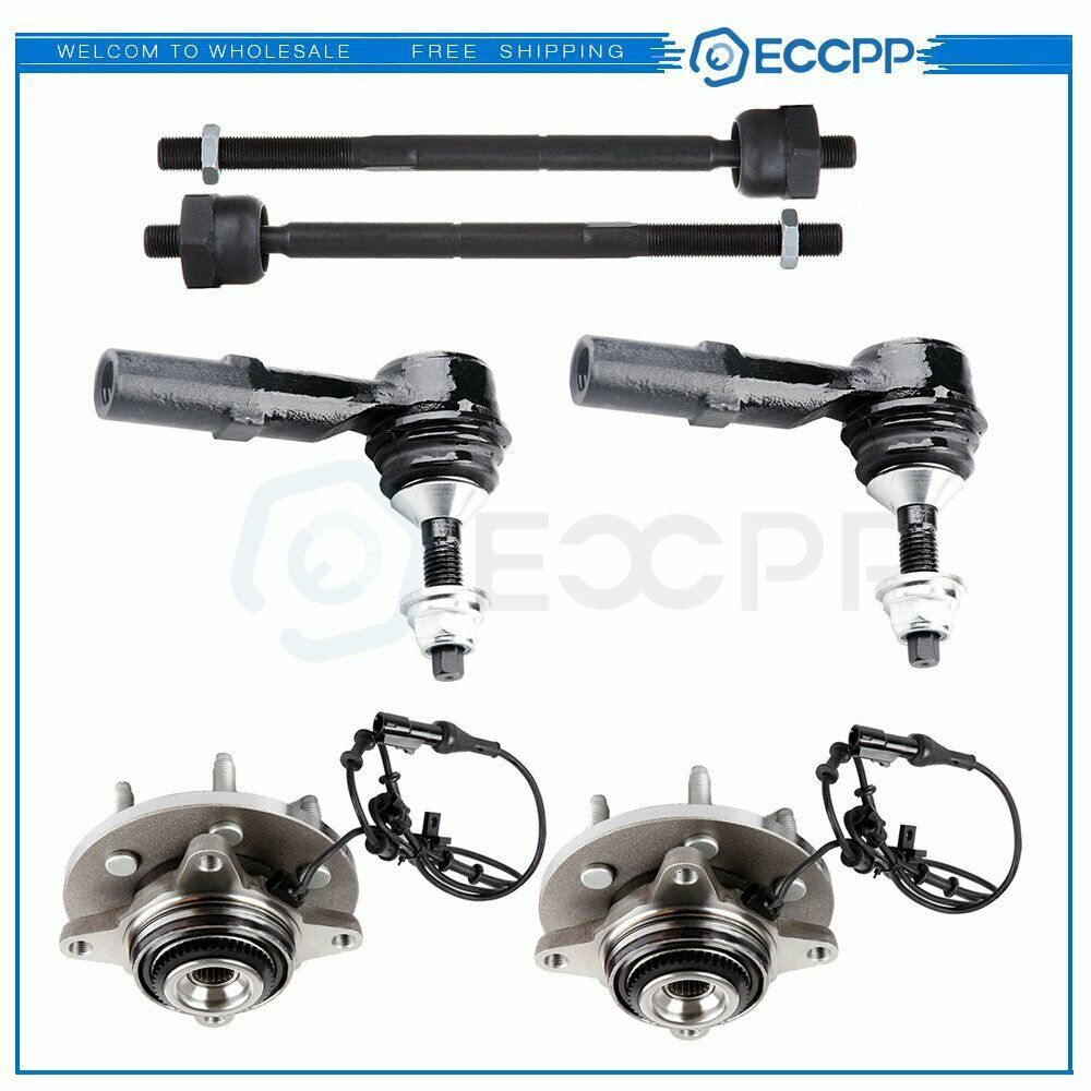 Ad Ebay 6pcs Front Wheel Bearing Hub Tie Rod For 03 06 Ford Expedition Lincoln Navigator Ford Expedition Lincoln Navigator 4wd