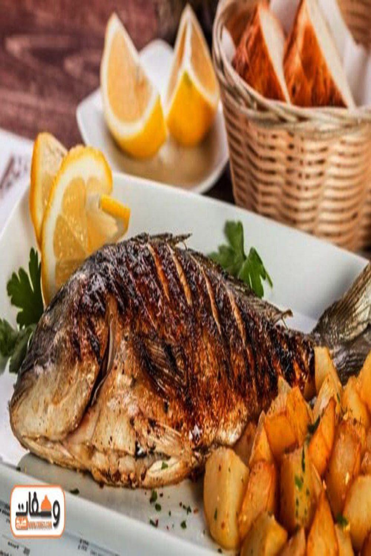 طريقة عمل صينية سمك بالفرن بـ 5 انواع سمك Food Turkey Meat