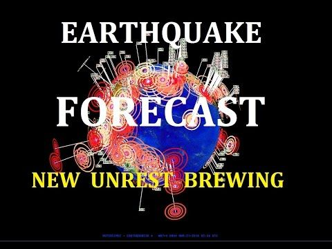 4/04/2016 -- Earthquake Forecast -- West Coast USA to Asia -- Volcanic + Seismic Unrest - YouTube