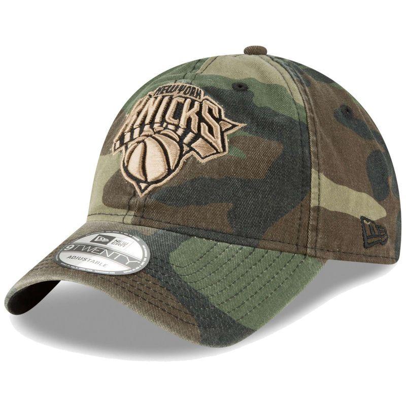 2dcefee7855d96 New York Knicks New Era Core Classic 9TWENTY Adjustable Hat – Camo ...