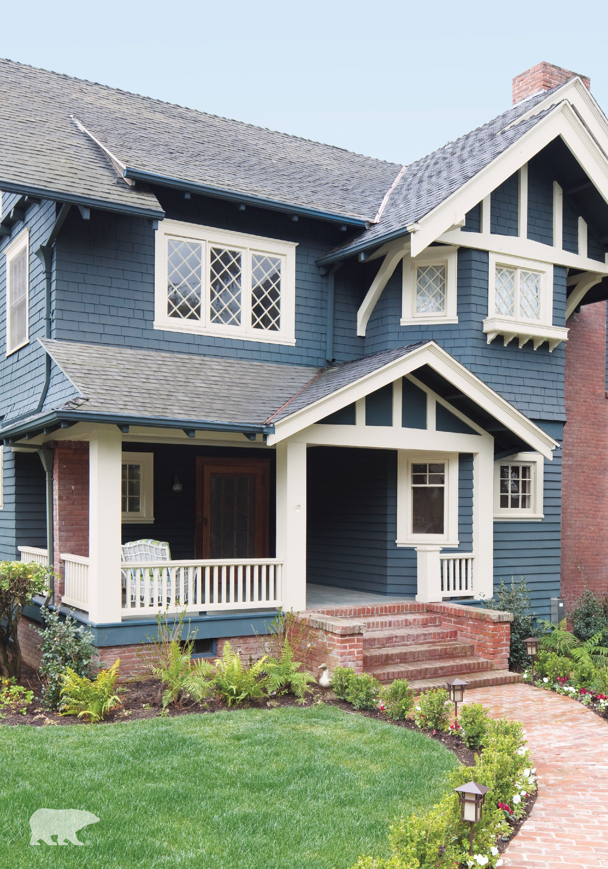 behr paint in a color like forever denim not only helps to on behr exterior house paint photos id=70057