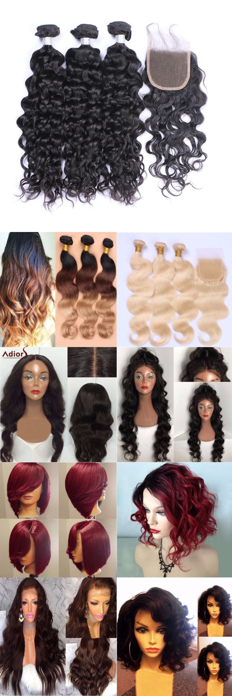 Freeshipping 500 Trendy Wigs For Your Hair Style Start From 2 99 Up To 65 Off Sammydress Com Wigs Hair Styles Short Human Hair Wigs