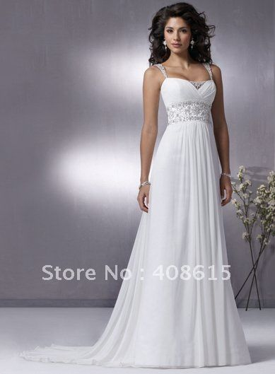 417e7c8d9 Casual Empire A-line Sweetheart Wedding Dresses With Ruffles-NEW on  AliExpress.com. $97.98