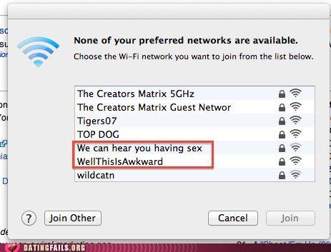 Funny Wifi Network Names Funny Wifi Names Wifi Names Funny Mom