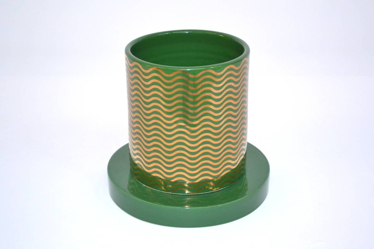 Vase Mediterraneo, Ettore Sottsass, Lavori in Corso | From a unique collection of antique and modern vases at https://www.1stdibs.com/furniture/dining-entertaining/vases/