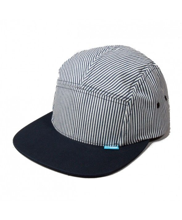 KING RS 5 panel Navy-Hickory Stripe