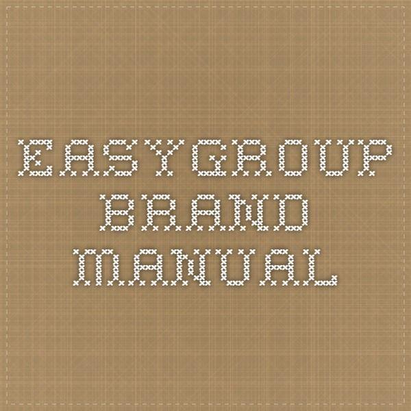 EasyGroup Brand Manual
