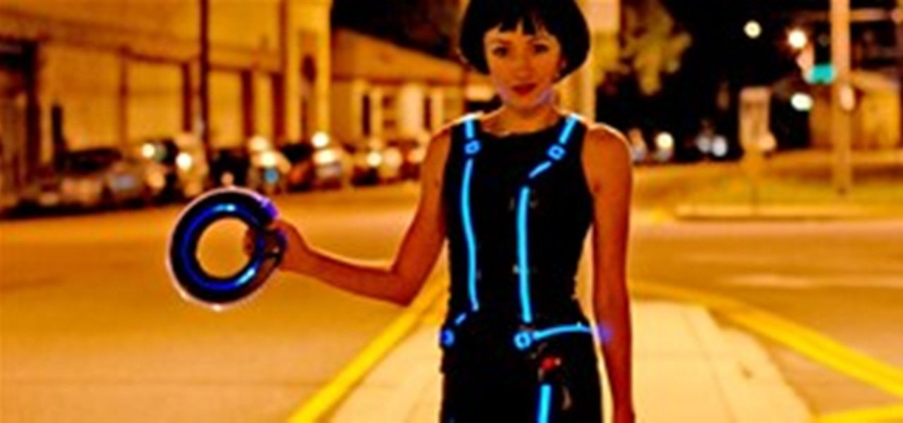 HowTo: Make Your Own Tron Costume With Electroluminescent Wire ...