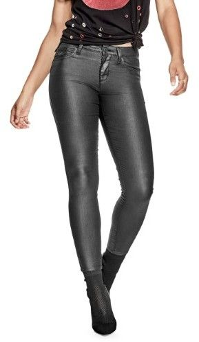 women size 31 coated jeans